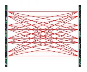 raggi barriere infrarossi per esterno